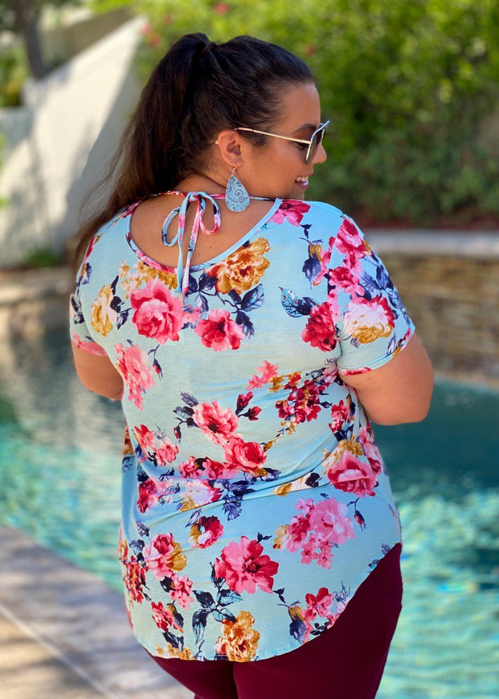 Botanical Beauty Short Sleeve Top