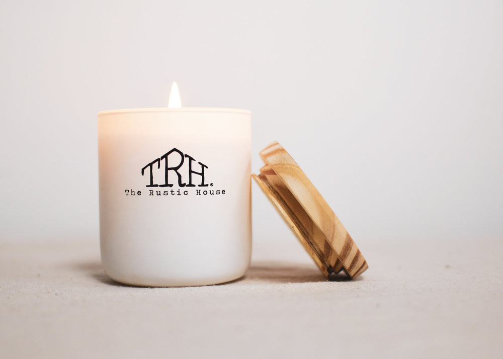 The Rustic House French Lavender Candle - Grace & Grits