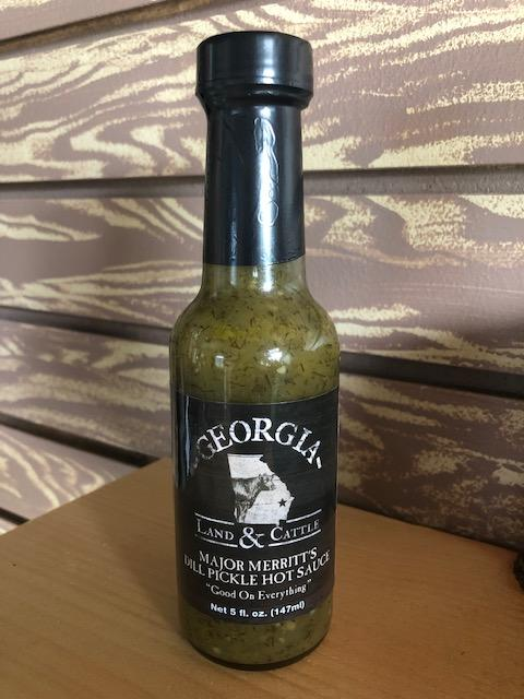 Georgia Land & Cattle Dill Pickle Hot Sauce - Grace & Grits
