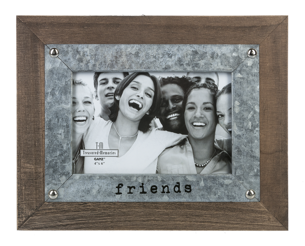 Friends 4x6 Frame - Grace & Grits