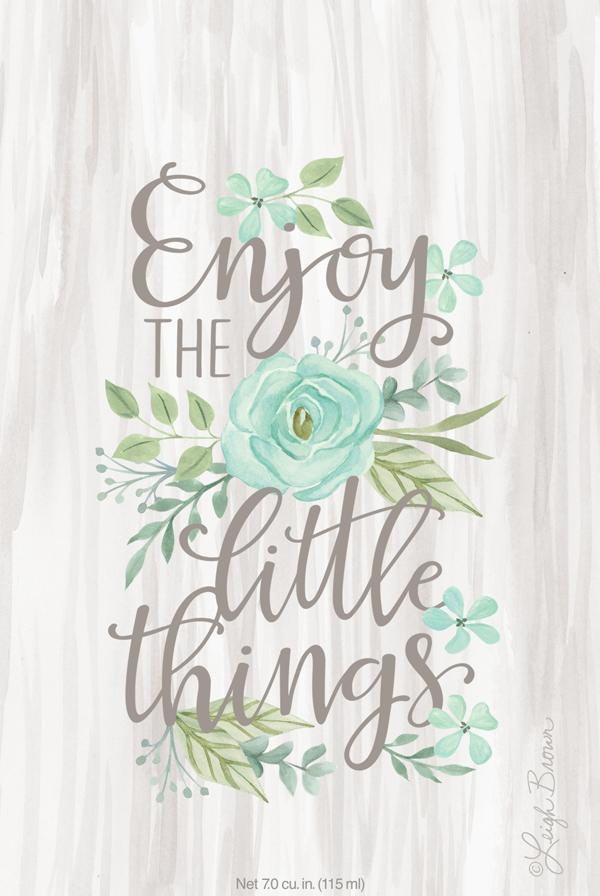 Enjoy The Little Things Sachet