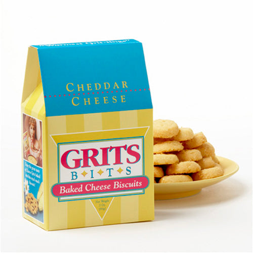 Cheddar Grits Cookies