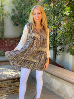Southern Sass Lace Bell Sleeve