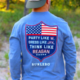 "BURLEBO ""Party Like W"" T-Shirt - Grace & Grits"