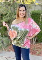 Strawberry Wine Loose Fit Tunic