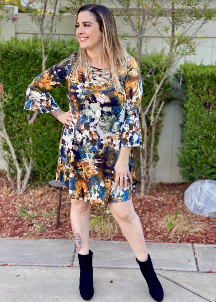 Turn! Turn! Turn! Tunic Dress