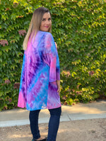 Vivacity For Life Tie Dye Cardigan