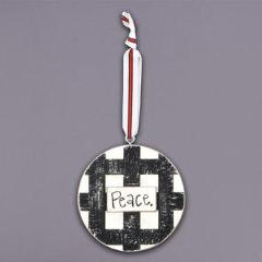 Peace Christmas Ornament - Grace & Grits