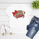 UGA Leopard Football T-Shirt - Grace & Grits