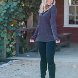 Holiday Glitz Long Sleeve Top
