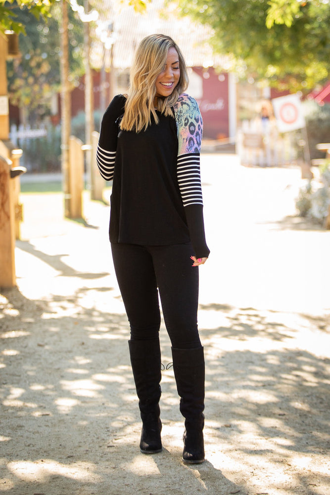 Roxie Raglan Top