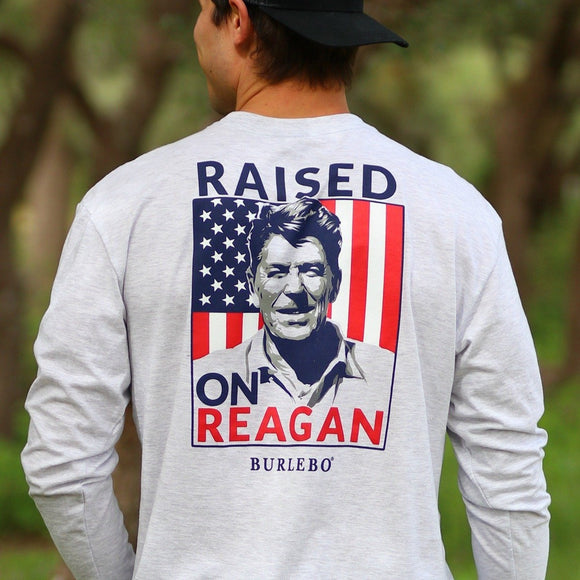 BURLEBO Raised on Reagan T-Shirt