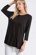 Ruffles and Lace 3/4 Sleeve Top