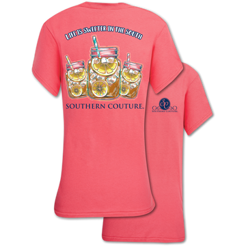 Southern Couture Life is Sweeter in the South T-Shirt