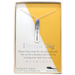 Dreamer and a Doer Necklace