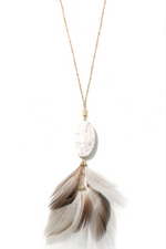 Birds of A Feather Pendant Necklace