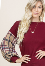 Uptown Charm Puff Sleeve Top
