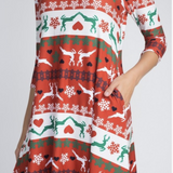 Joy To The World Swing Dress