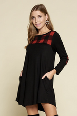 Distinguished Beauty Long Sleeve Dress