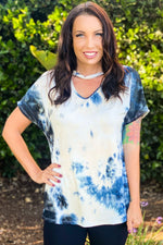 Time To Live Tie Dye Choker Top