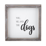 You, Me, & the Dog Wall Art - Grace & Grits