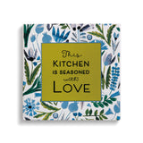 Seasoned with Love Trivet with Cork Conversion Chart - Grace & Grits