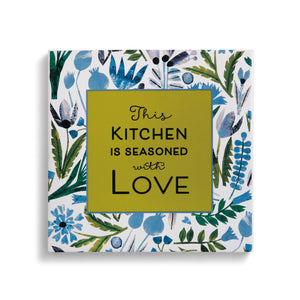 Seasoned with Love Trivet with Cork Conversion Chart