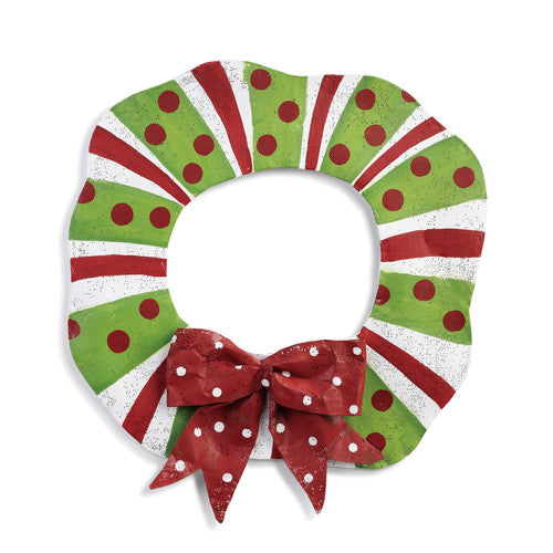 Christmas Wreath Door Hanger - Grace & Grits