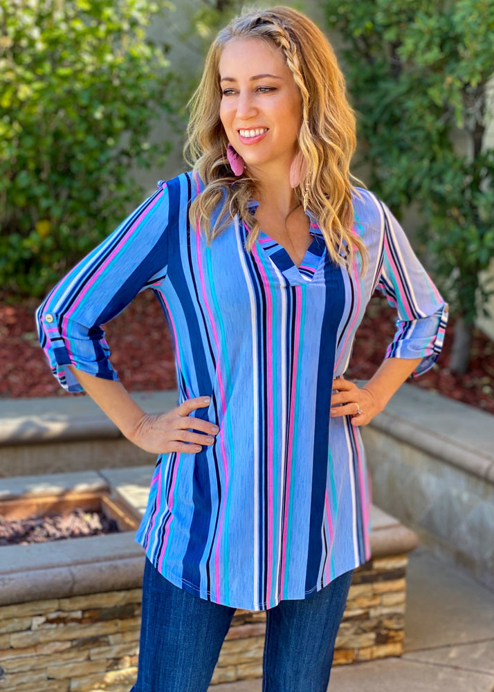Sail Away With Me Tunic