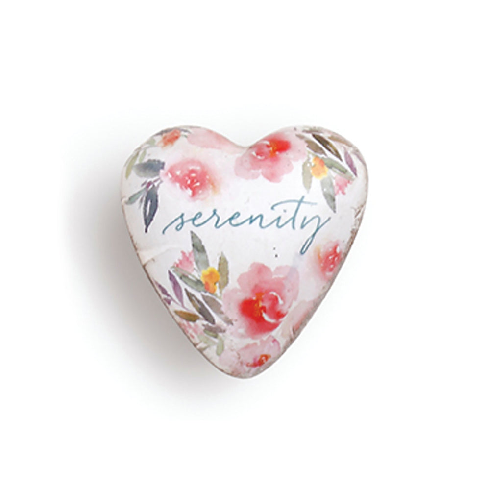 Serenity Art Heart Token - Grace & Grits