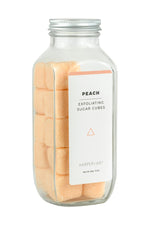 Peach Sugar Cube Body Scrub - Grace & Grits