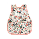 Vintage Rose Floral Toddler Bapron - Grace & Grits