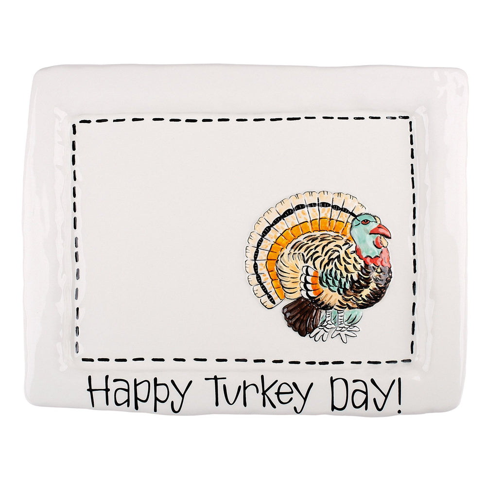 Turkey Day Serving Tray - Grace & Grits