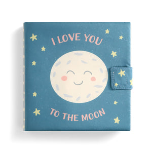 I Love You to the Moon Soft Book