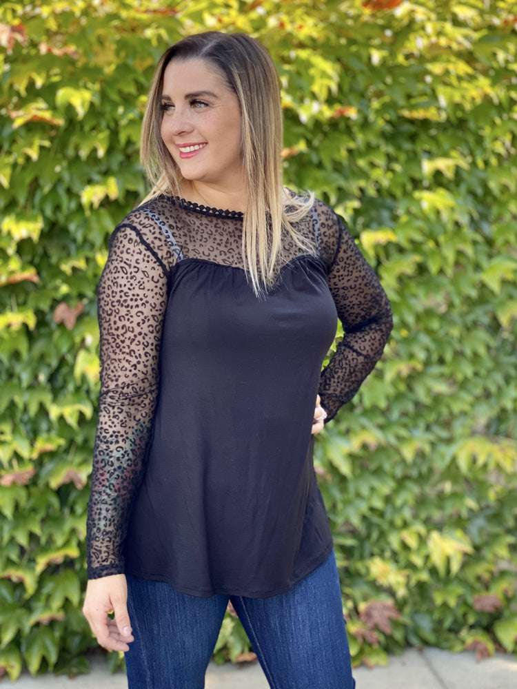 Subtle & Sultry Long Sleeve Top