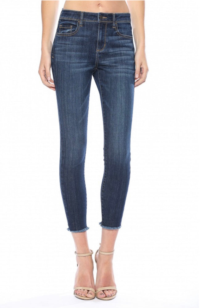 CELLO Fringe Bottom Jeans