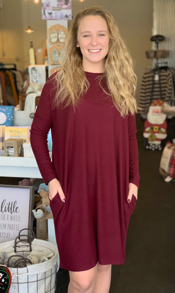 {Jill} Sweater Dress