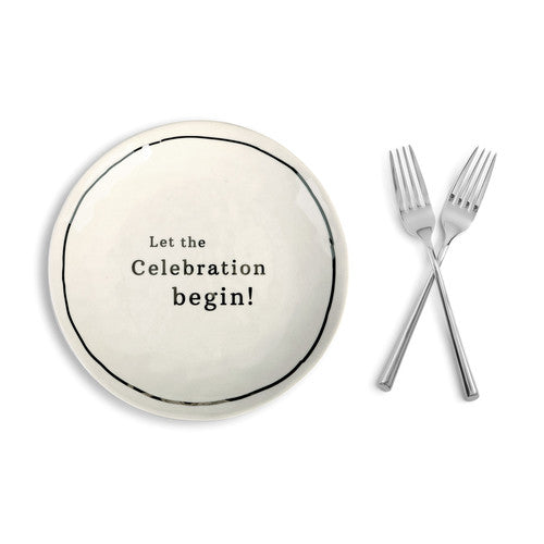 """Celebrate"" Wedding Cake Keepsake Set"