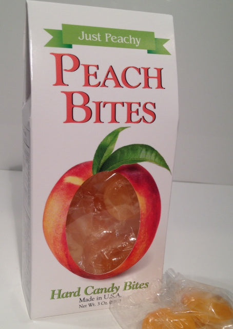 Peach Bites Hard Candy - Grace & Grits