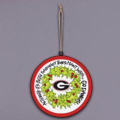 Collegiate Metal Ornament
