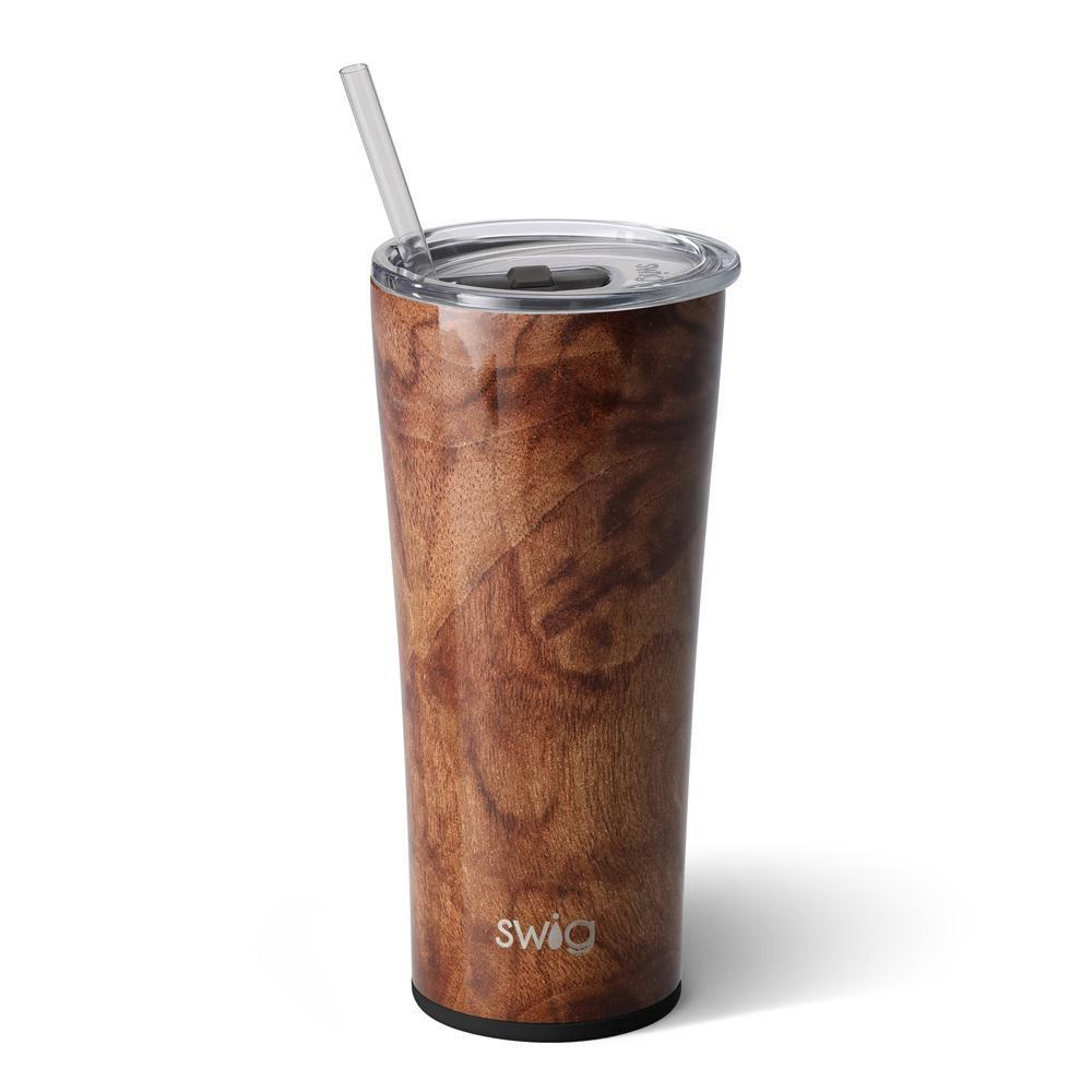 Black Walnut 22oz. Tumbler - Grace & Grits
