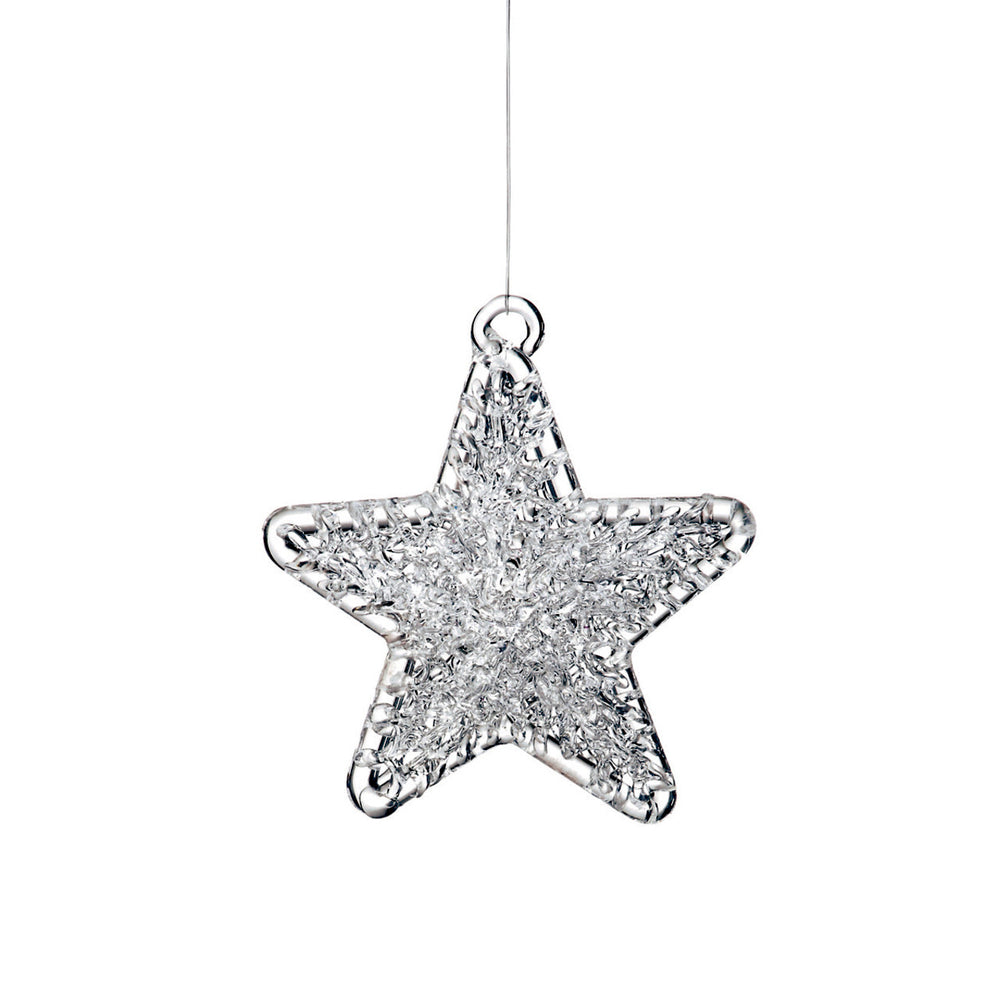 Spun Glass Star Ornament - Grace & Grits