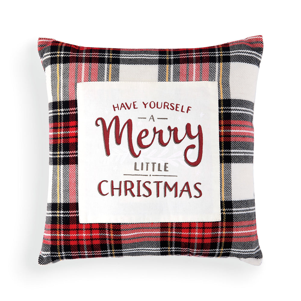 Have Yourself a Merry Little Christmas Pillow - Grace & Grits
