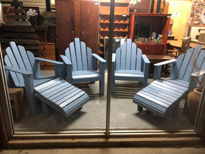 Adirondack chairs wooden recycled