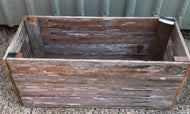 540mm rectangle planter wooden recycled