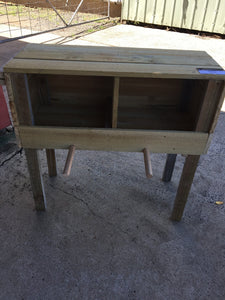 740mm nesting box wooden recycled