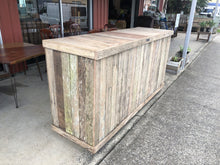 Load image into Gallery viewer, 2100mm shop counter wooden recycled