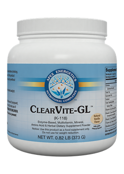 Clearvite GL (K118) Natural Vanilla Flavour  - 373g