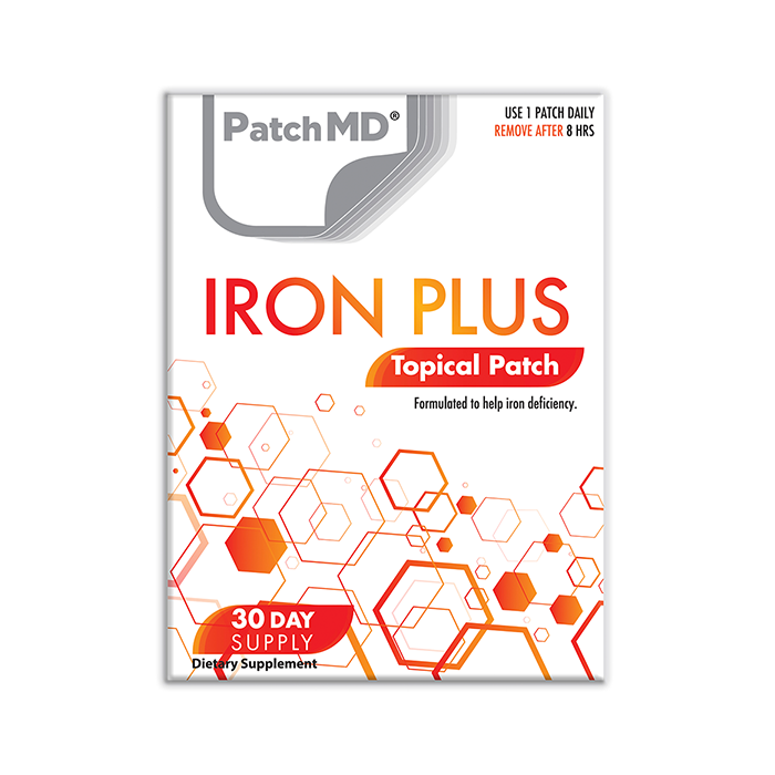 Iron Plus (Topical Patch 30 Day Supply) - 30 Patches