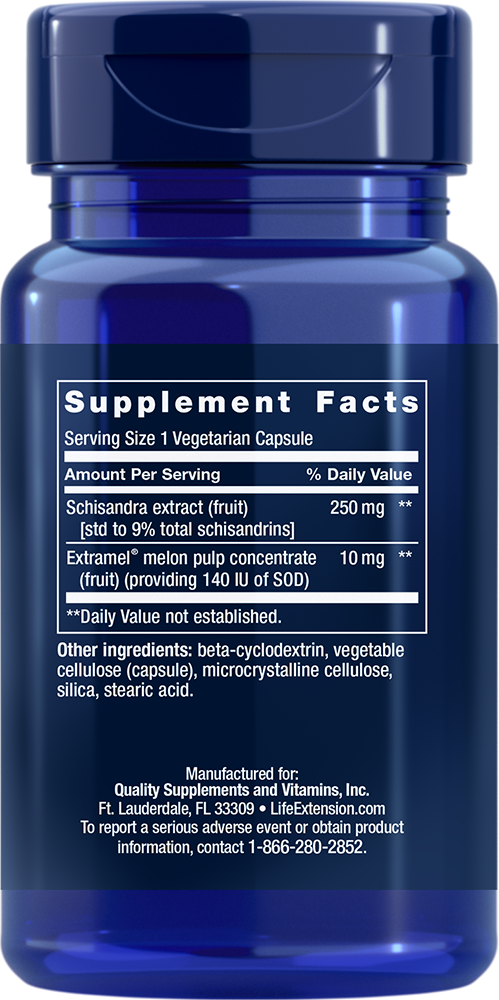 Liver Efficiency Formula - 30 Capsules